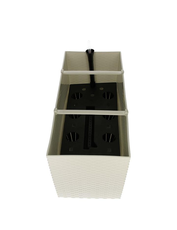 blumenkasten mit bew sserungssystem wasserspeicher rato case hoch g n 22 49. Black Bedroom Furniture Sets. Home Design Ideas