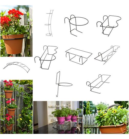Blumentopfhalter Blumenständer Halterung für Blumenkasten und ...