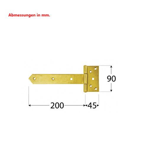 Artesania 908649 24 Stück Scharniere 3 x 15 mm Neu